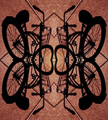 Gates Of Bicycle Heaven 2013 Art Print