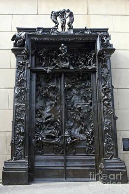 Jason Day Photograph - Gates Of Hell 1880 1900 Auguste Rodin by Jason O Watson