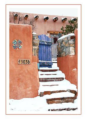 Photograph - Gates Of Santa Fe Iv by Gabriele Pomykaj