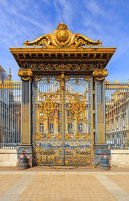 Photograph - Gates Of The Court Of Honour, Paris by Pawel Libera