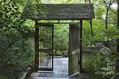 Photograph - Gates Of Tranquility by Sandra Bronstein
