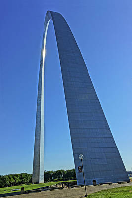 Photograph - Gateway Arch by Greg Kluempers