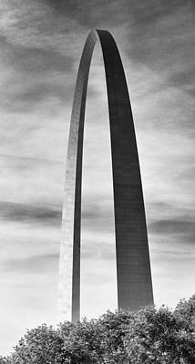 Photograph - Gateway Arch  by Harold Rau