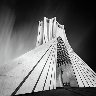 Tourist Attraction Photograph - Gateway Into Iran by Mohammad Rafiee