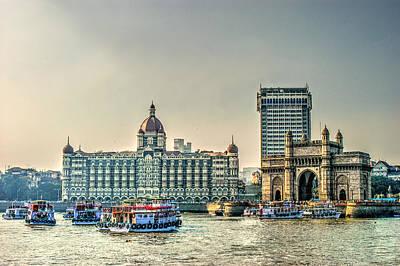 Tajmahal Photograph - Gateway Of India by Chidanand M