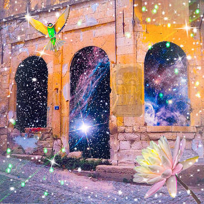 Digital Art - Gateway Of The Spirits by Karen Buford