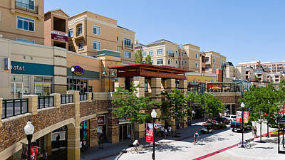 Gateway Shopping Center, Downtown Salt Art Print by Panoramic Images