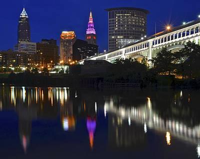 Gateway To Cleveland Art Print