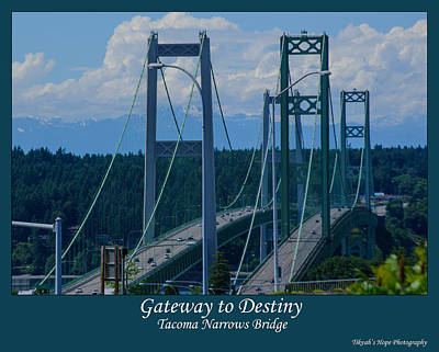 Photograph - Gateway To Destiny by Tikvah's Hope