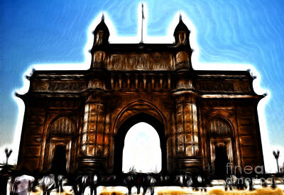 Gateway To Fractalius Art Print
