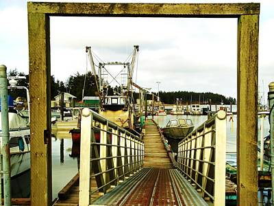 Gateway To Open Water  Art Print by Pamela Patch