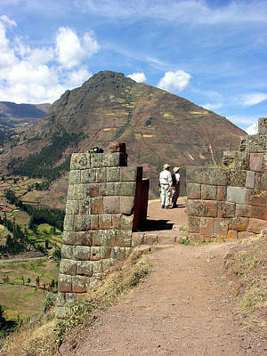 Cusco Photograph - Gateway To Puca Pucara by Roger Burkart