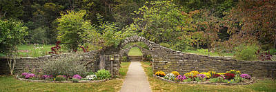 Gateway To The Garden Art Print by Wendell Thompson