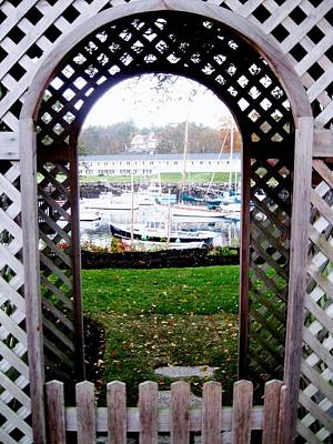 Gateway To The Sea Art Print by Will Boutin Photos