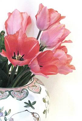 Gathered Tulips Art Print