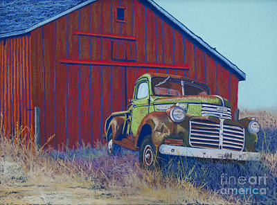 Gathering Memories Print by Tracy L Teeter