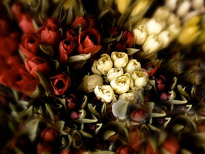 Photograph - Gathering Of Tulips by Jessica Jenney