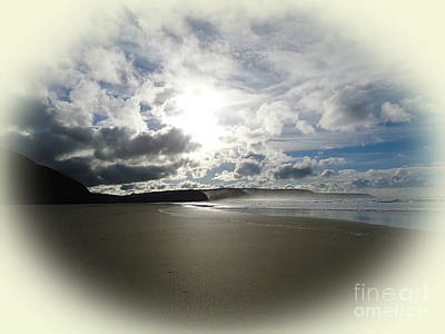 Photograph - Gathering Storm At Perranporth Cornwall by Ava Larsen