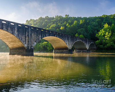 Photograph - Gatliff Bridge by Anthony Heflin