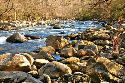 Gatlinberg River Art Print