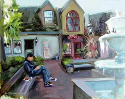 Painting - Gatlinburg by Erin Rickelton