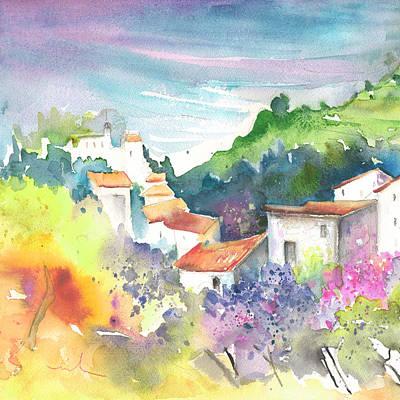 Spanish House Painting - Gatova Spain 03 by Miki De Goodaboom