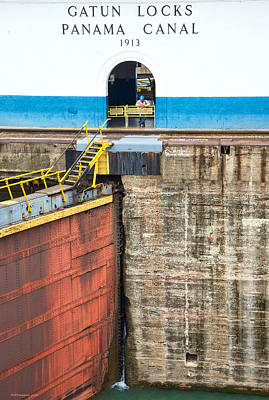 Photograph - Gatun Locks by Britt Runyon