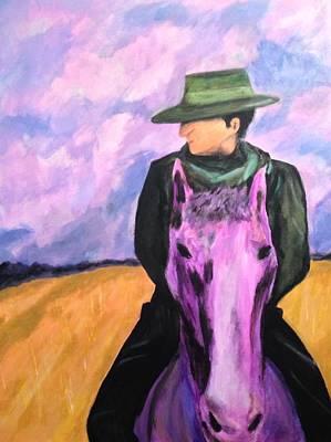 Painting - Gaucho De Mendoza by D August