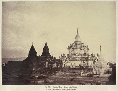 Gauda-palen Pagoda Art Print by British Library