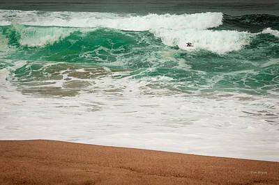 Photograph - Gaudalupe Beach by Tim Bryan