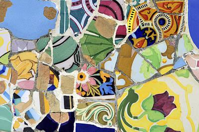 Gaudi Mosaic Original by Jacek  Kadaj