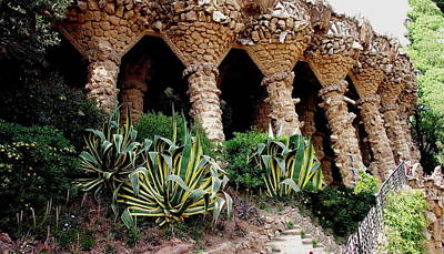 Photograph - Gaudi - Palau Guell - Barcelona by Jacqueline M Lewis