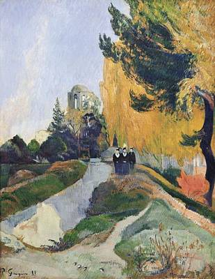 Gauguin, Paul 1848-1903. The Alyscamps Art Print