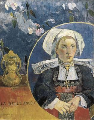 Gauguin, Paul 1848-1903. The Beautiful Art Print