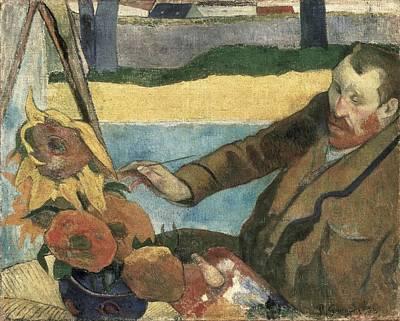 Gauguin, Paul 1848-1903. Van Gogh Art Print