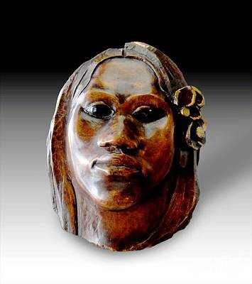 Gauguin Sculpture - Tehura Art Print by Pg Reproductions