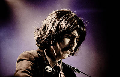 Fab Four Photograph - Gavin Leslie Pring As George Harrison by Salvador Gomez