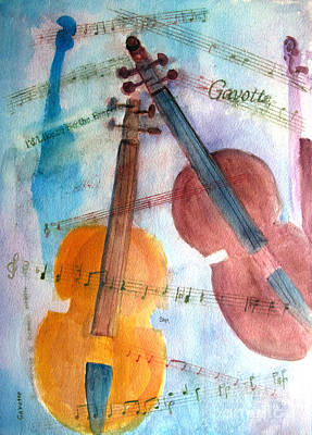 Painting - Gavotte by Sandy McIntire