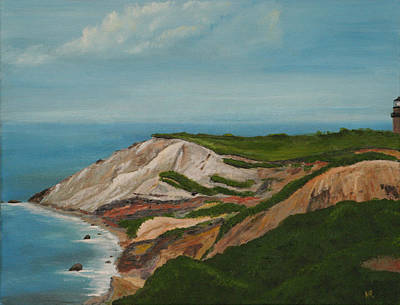 Gay Head Cliffs Original by Nick Robinson