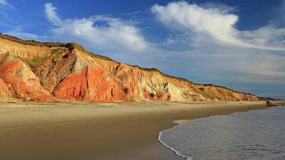 Photograph - Gay Head Cliffs On Marthas Vineyard by Katherine Gendreau Photography
