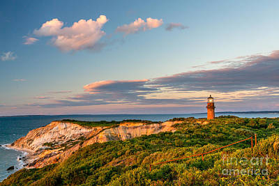Photograph - Gay Head Light In Aquinnah by Susan Cole Kelly