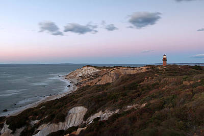 Travel Pics Royalty-Free and Rights-Managed Images - Gay Head Lighthouse by Juergen Roth