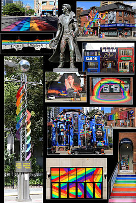 Photograph - Gay Village 1 by Andrew Fare