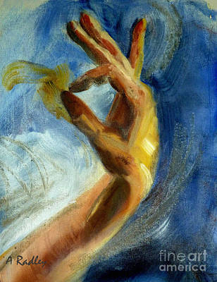 Painting - Gayan by Ann Radley