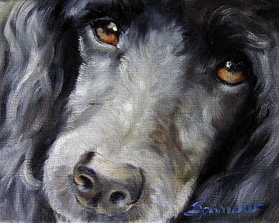 Daydreams Art Painting - Gaze by Mary Sparrow