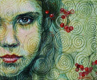Gaze Art Print by Oksana Zhelisko