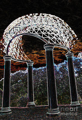 Photograph - Gazebo 1 by Minnie Lippiatt