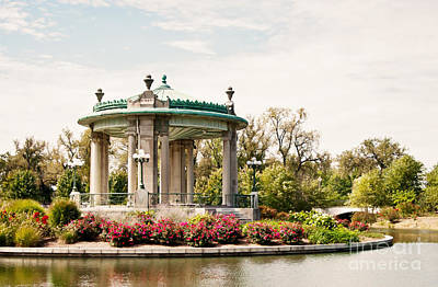 Photograph - Gazebo At Forest Park St Louis Mo by Pam  Holdsworth