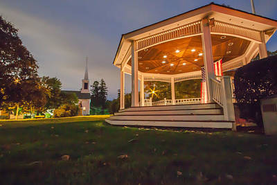 Photograph - Gazebo by Brian MacLean
