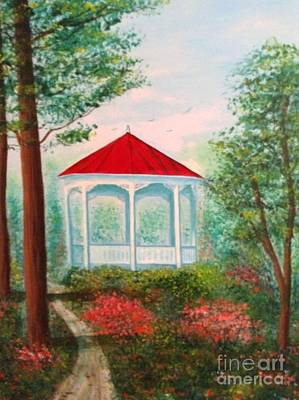 Photograph - Gazebo Dream by Becky Lupe